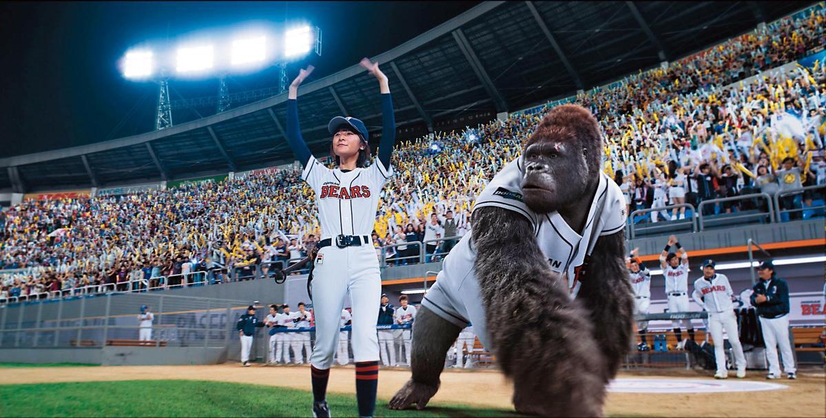 金容華投注大量心血的《王牌巨猩》,充斥大量特效,無奈票房慘敗讓他牢牢記取教訓。(Dexter Studios提供)