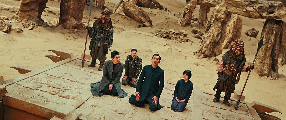 《與神同行》系列電影特效全由Dexter Studios負責,逼真精彩程度媲美好萊塢。(釆昌國際多媒體提供)