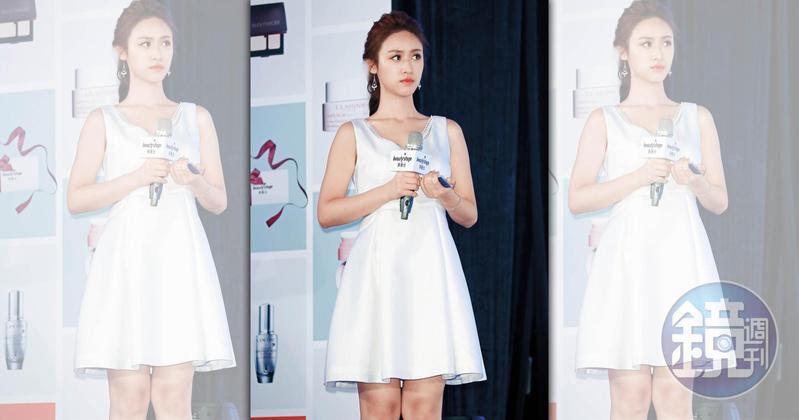 吳姍儒再爆公主病,近年穿衣打扮都想朝侯佩岑看齊,為此推掉了高級鑽石品牌贊助。