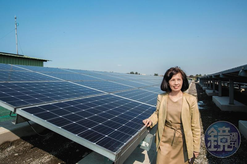 大同董座林郭文艷面臨經營挑戰,仍帶領公司積極轉型,從電力設備製造商邁向智慧能源公司發展。