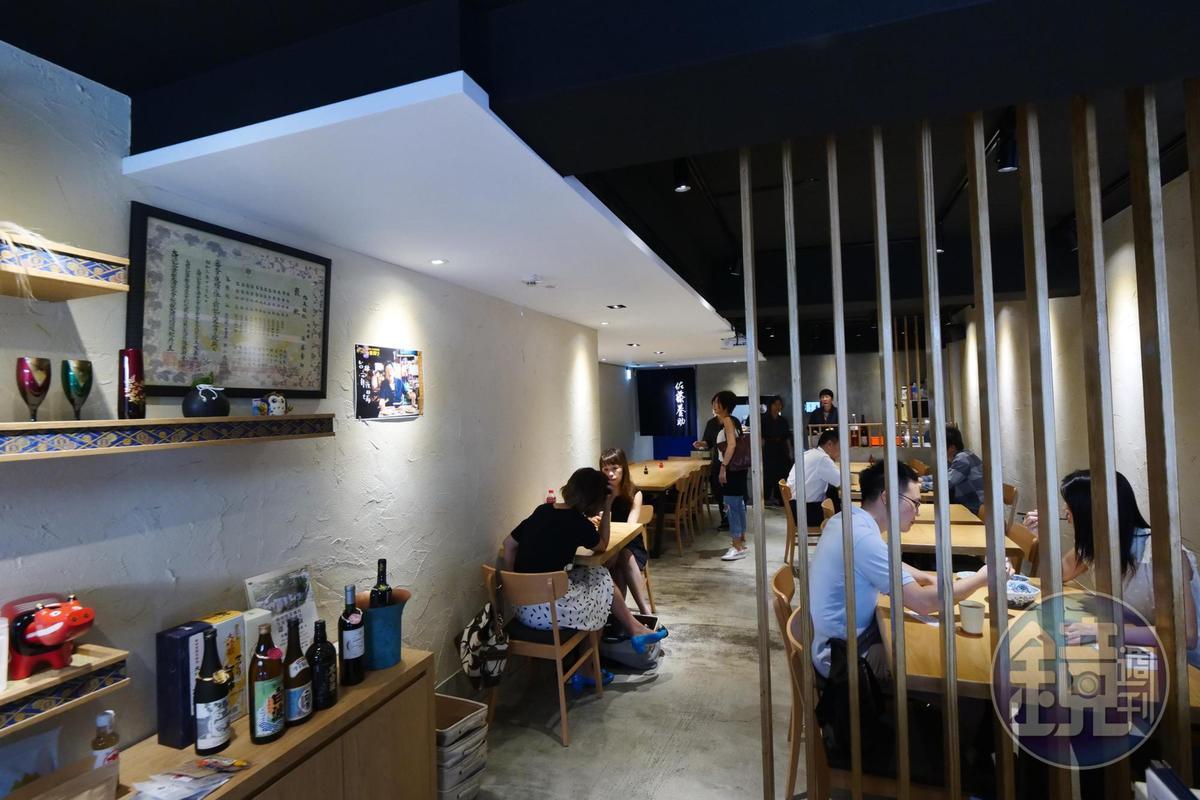 在秋田有150年歷史的佐藤養助,將稻庭烏龍麵的美味零時差送到台北店。