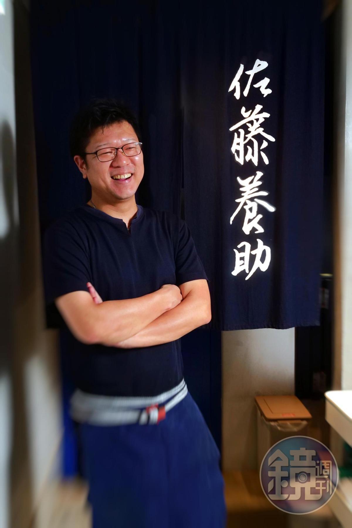 店主兼主廚川村勝行手藝好,來台5年已累積不少老饕顧客。