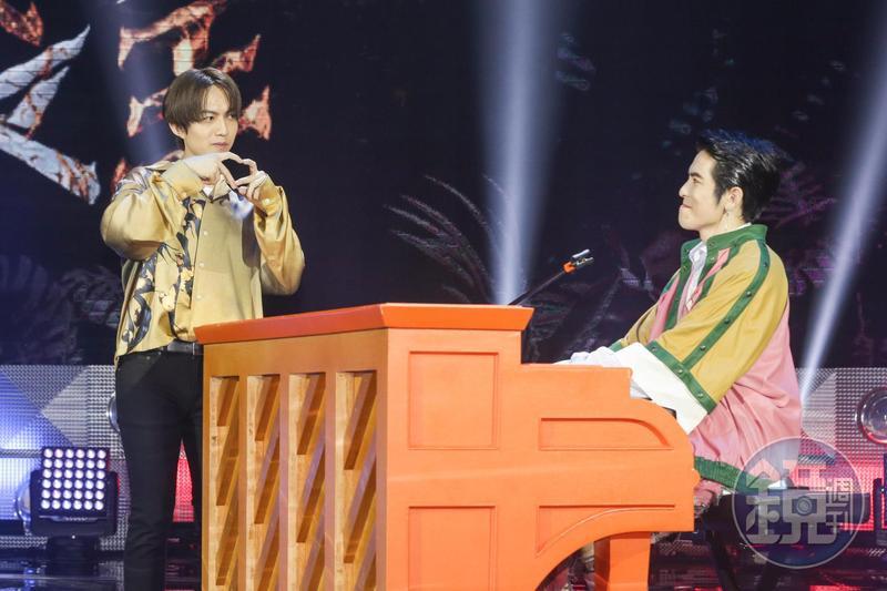 蕭敬騰、林宥嘉自認一個像爸爸、一個像媽媽,會嚴格對待參賽的選手們。