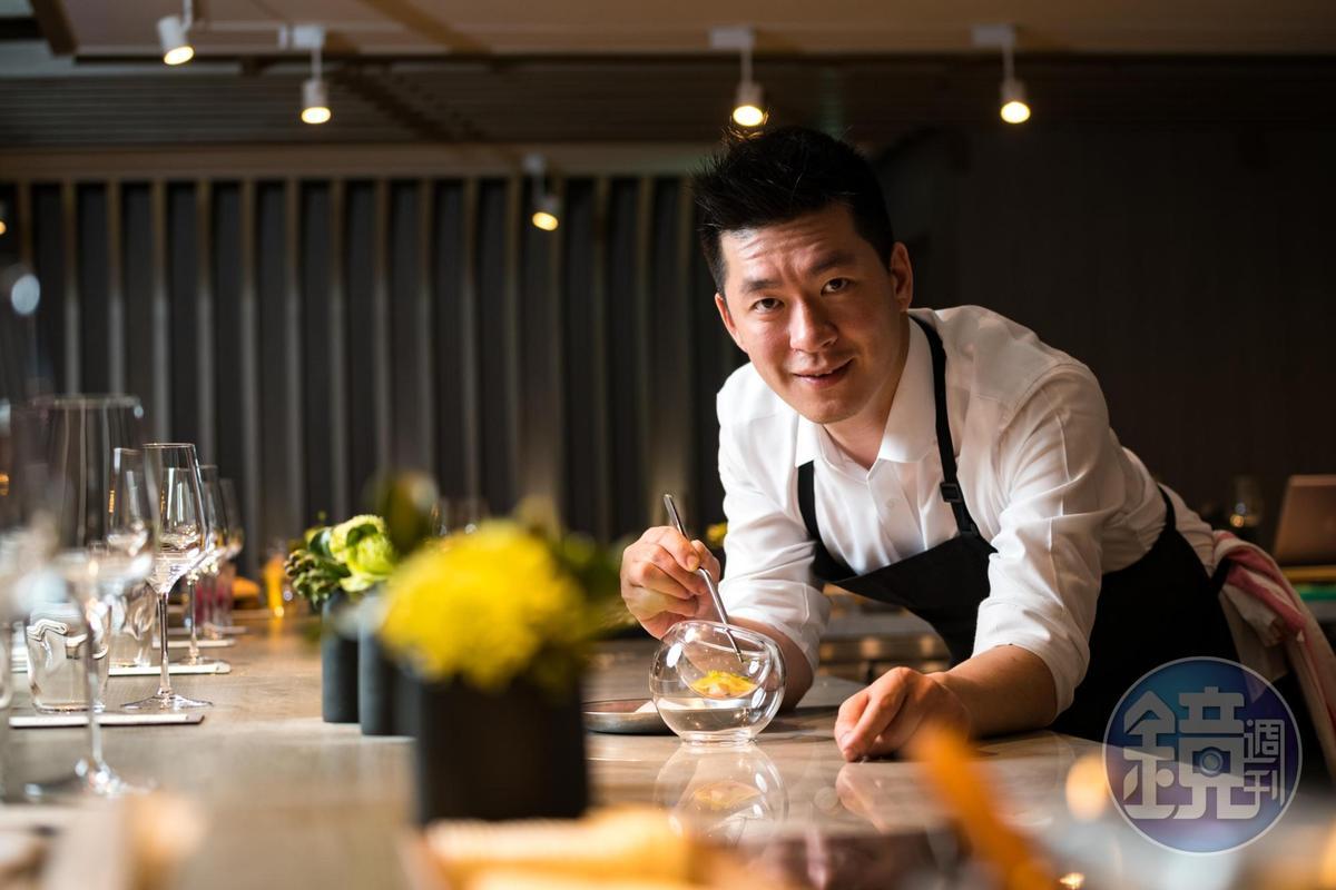 「IMPROMPTU」餐廳老闆兼主廚李皞(Paul Lee)對料理及用餐型式獨有見解,這是他從美國帶回給台灣的料理新觀點。