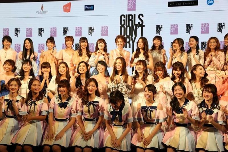 泰國女子天團「BNK48」是日本AKB48的海外姐妹團。(高雄電影節提供)