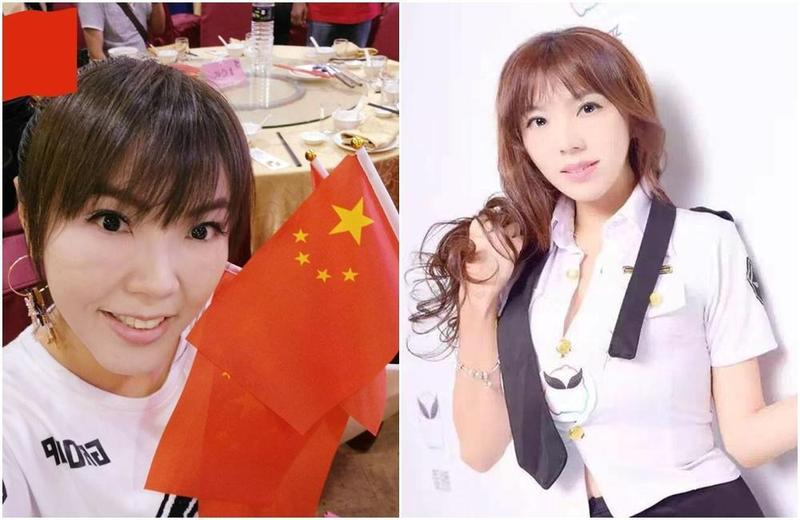 劉樂妍今天號召中國網友血洗台灣。(取自劉樂妍粉絲專頁)