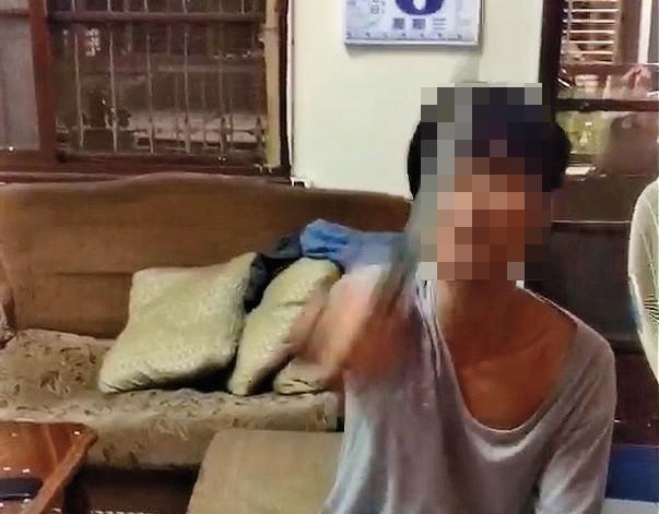 何男揮刀恐嚇遭女友控告,警方意外查出他是7年前連續竊盜案的漏網之魚。(讀者提供)