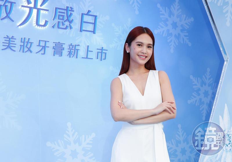 楊丞琳出席牙膏代言活動,還原亞太影展不受訪始末。