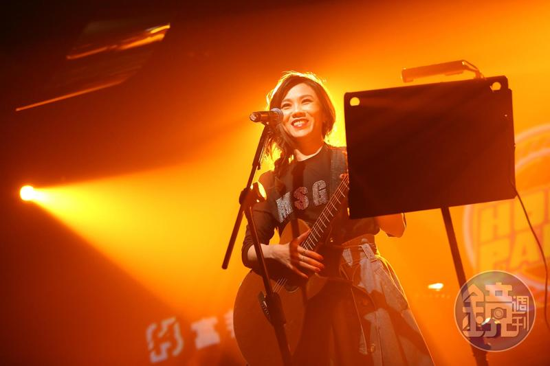 導師蔡健雅在Homie Party也準備了小型演唱。