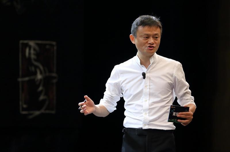 阿里巴巴正式發表新聞稿,宣布馬雲將於明年辭去董事局主席。 (東方IC)