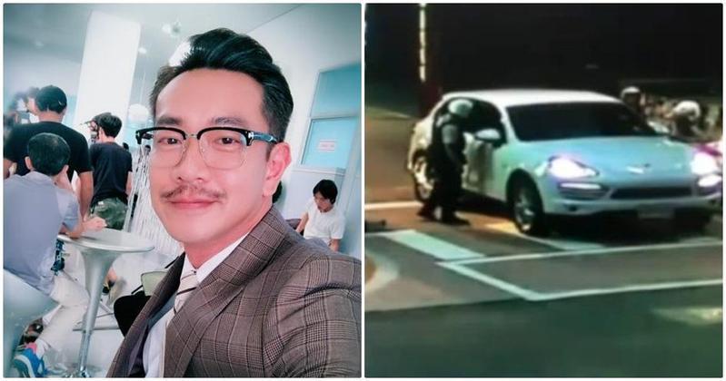 知名本土劇男星江俊翰今(10日)凌晨因施用安非他命,遭警方移送法辦。(翻攝畫面)