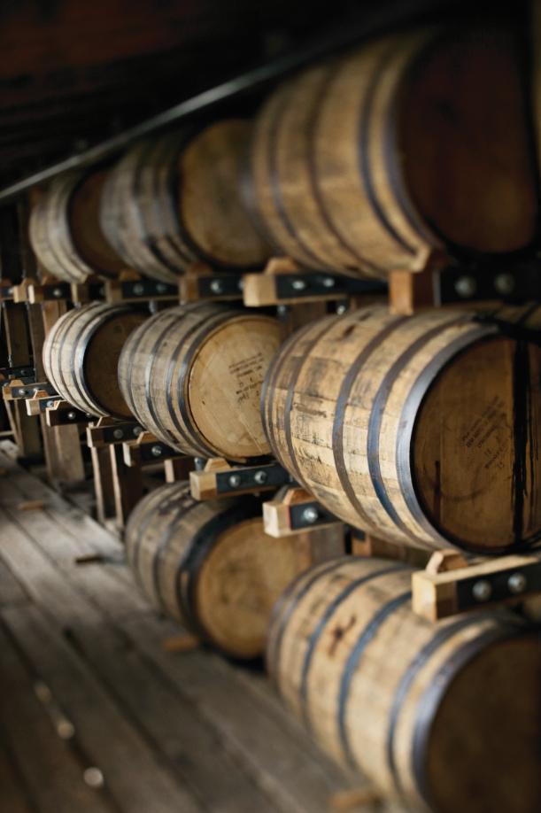 田納西威士忌陳放在全新的美國白橡木桶。(Jack Daniel's提供)