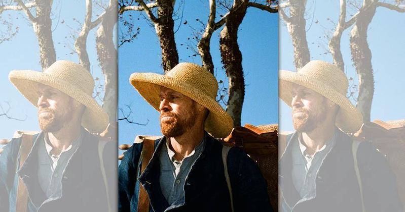 威廉達佛從影快40年,今年終於憑《梵谷:在永恆之門》飾演自殺前的殿堂級藝術家梵谷獲得本屆威尼斯影帝。(車庫娛樂提供)