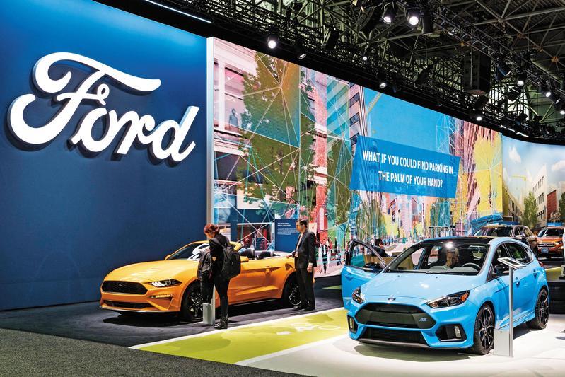 汽車產業需求減緩,以美國為例,預期今年銷量將較去年減少,恐出現連2年衰退的現象。(東方IC)