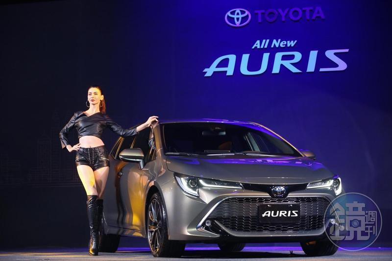 被喻為掀背神車的豐田(Toyota)Auris,今(10日)正式在台發表。