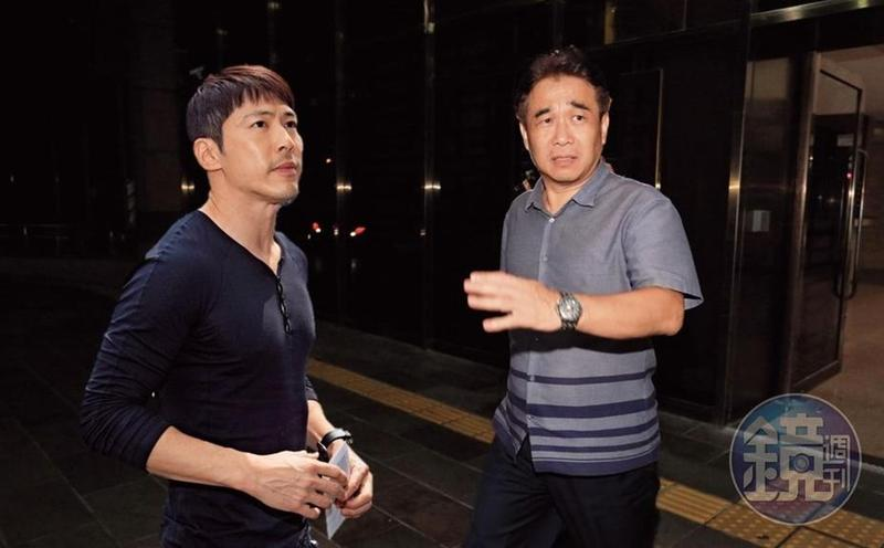 昇華娛樂創辦人俞惟中(右)白手起家,旗下眾多大牌藝人,建立橫跨兩岸的影視帝國,如今捲入掏空案,令人感到意外。黃少棋(左)在18年前以《飛龍在天》的飛虎角色走紅,成為家喻戶曉的本土戲劇一哥。