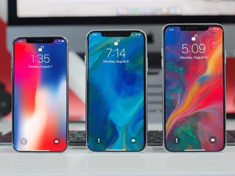 新iPhone有OLED和LCD版本共3款機型,正面延續瀏海機設計,功能僅小幅升級。(翻攝e-zone)