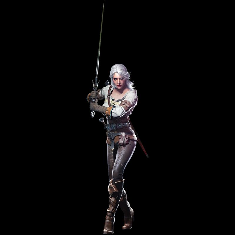 希里是《巫師》小說、遊戲系列中最重要的女主角之一。