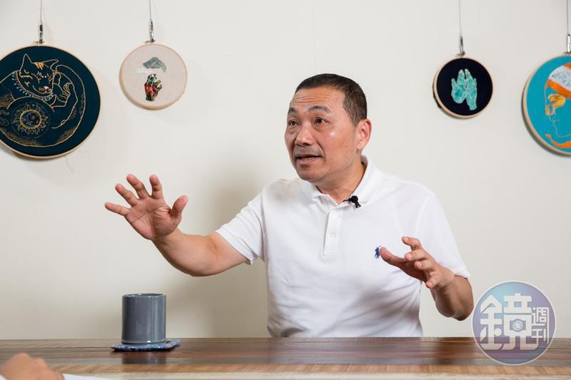 前總統陳水扁認為,在兩黨對決的情況下,他還是看好「阿猴」侯友宜。