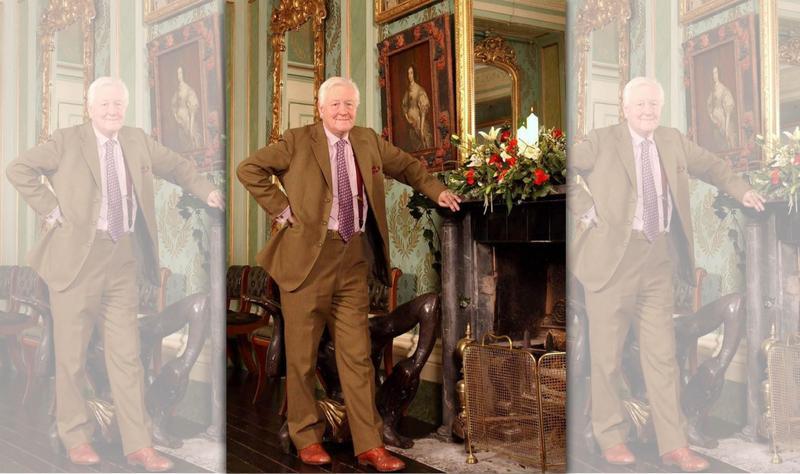 72歲富豪史萊德爵士徵婚「能生就刷卡刷到爆」。(圖取自獨立報)