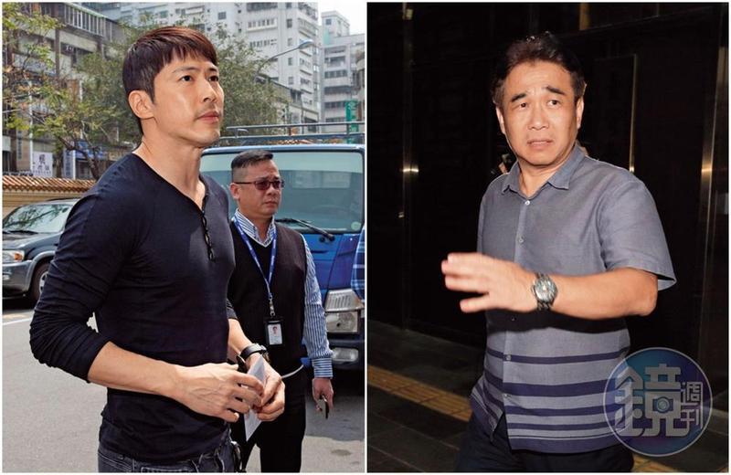 昇華娛樂創辦人俞惟中(右)涉嫌掏空案,遭檢調偵辦,卻意外扯出與黃少祺(左)一段投資糾紛,令人感到意外。