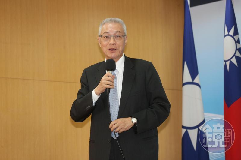 國民黨主席吳敦義表示,鄭南榕自焚問題不在侯友宜,推給他是不道德也是違法的事情。