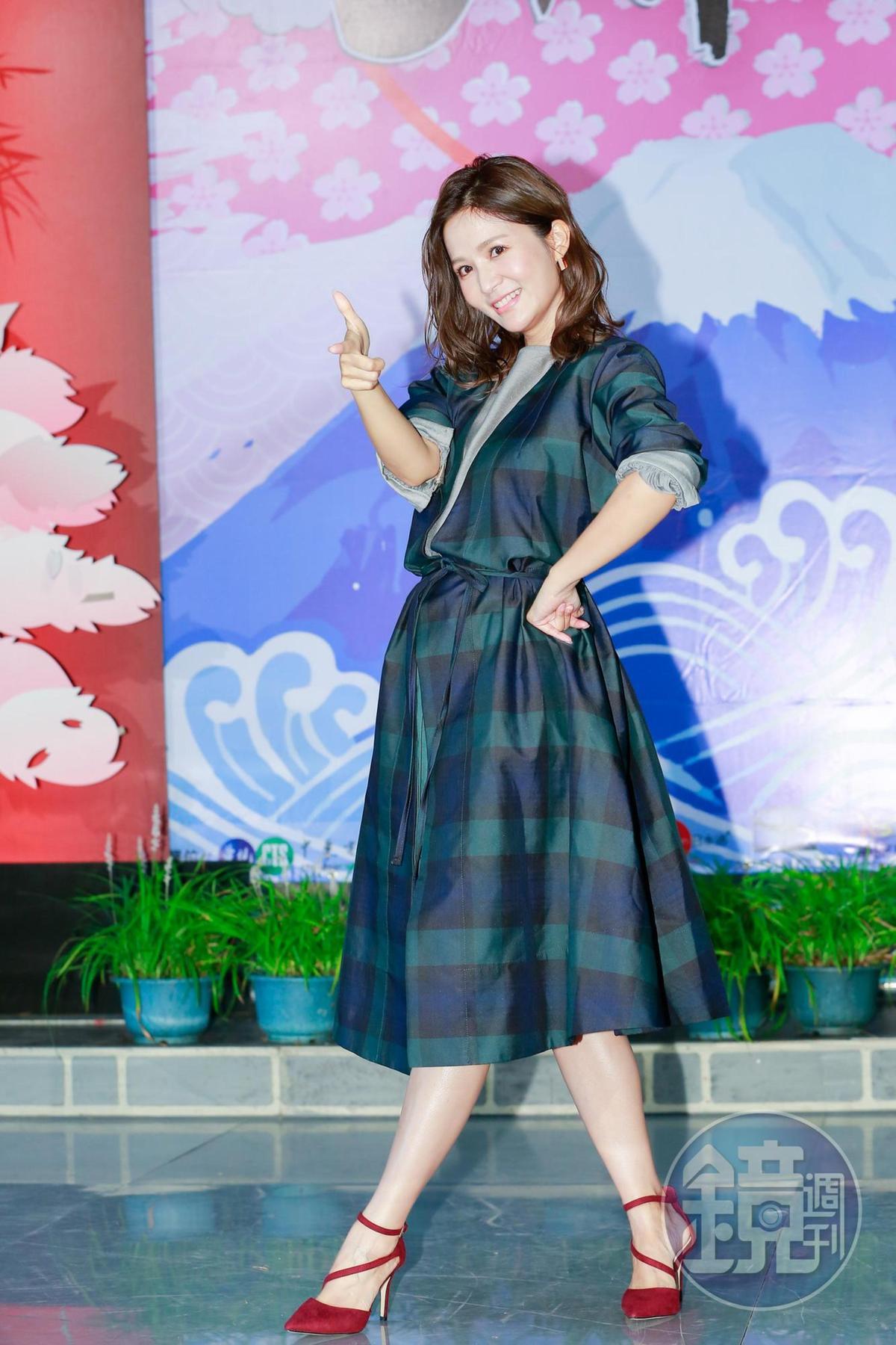 吳怡霈對日本非常喜愛,男友還教她日文。