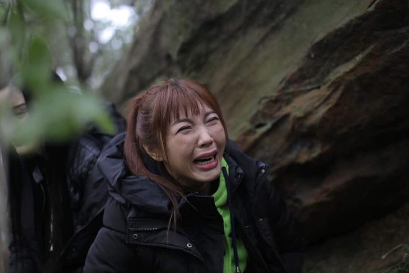 劉樂妍昨晚「落難」在北京街頭,還崩潰落淚po文表示,「北京對窮人的不友善,我真恨北京。」(翻攝自劉樂妍臉書)