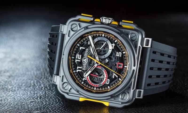 BELL & ROSS全新BR-X1 R.S.18腕錶,由賽車世界汲取靈感所打造的外型,是一款視覺效果非常強烈的賽車錶。