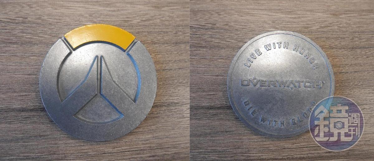 《鬥陣特攻®》 挑戰硬幣,集滿 3 個就……會很開心。