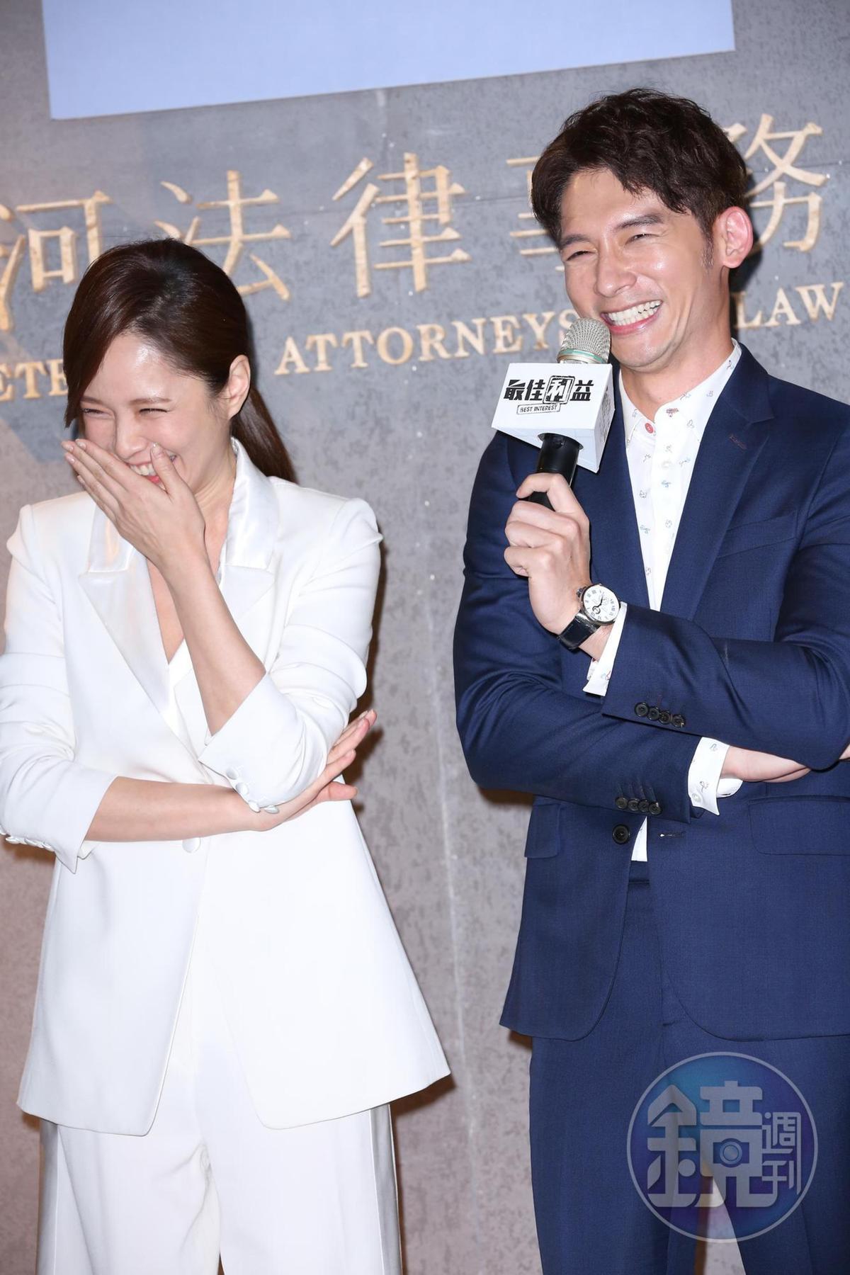 天心與溫昇豪自2012年合作後再聚首,天心笑表示雖然不見多年,但2人依然很合拍。