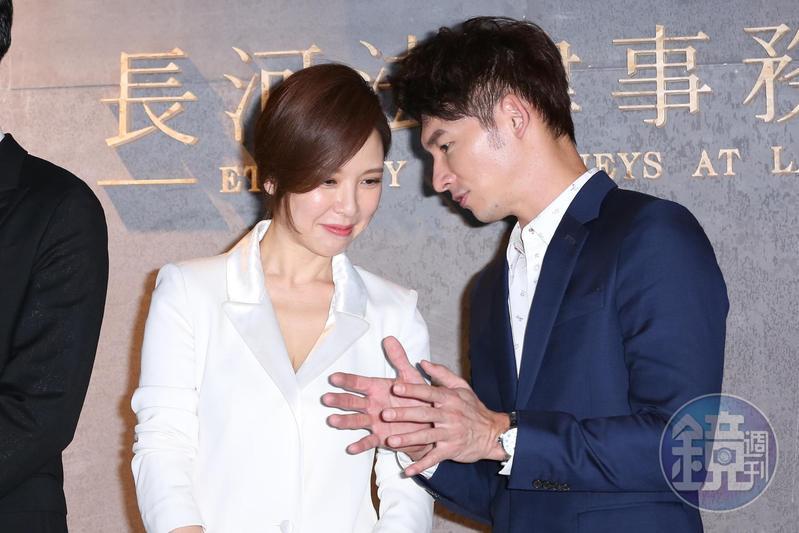 溫昇豪飾演檢察官,戲裡與天心配對演夫妻,但2人的夫妻關係因一起神秘自殺事件而產生裂縫,關係岌岌可危。