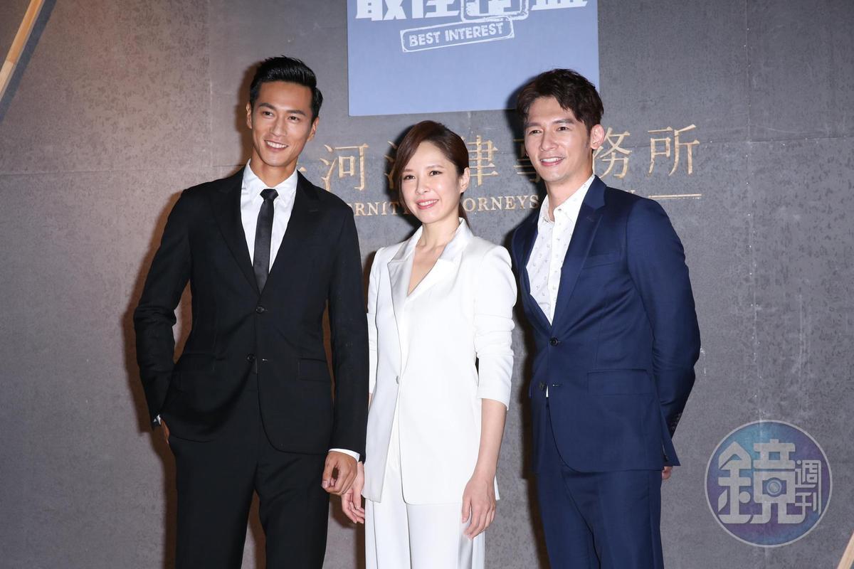 鍾承翰表原能夠跟溫昇豪與天心合作,從他們身上獲益良多。
