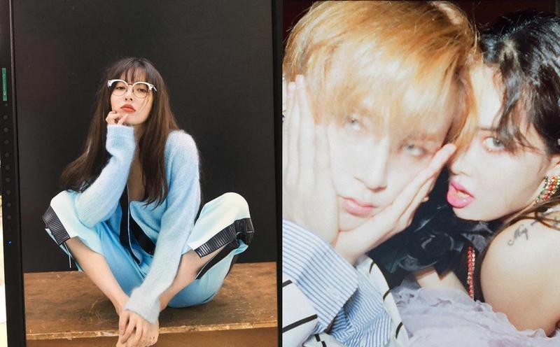 泫雅認愛師弟E'Dawn交往2年,被Cube娛樂宣告退社。(網路圖片)