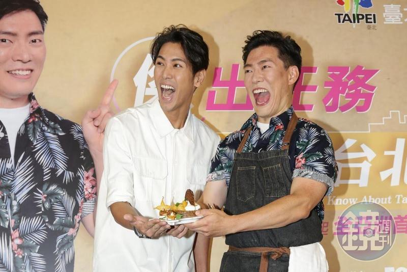 Jason Wang(右)與陳德烈因愛好下廚而建立好交情。