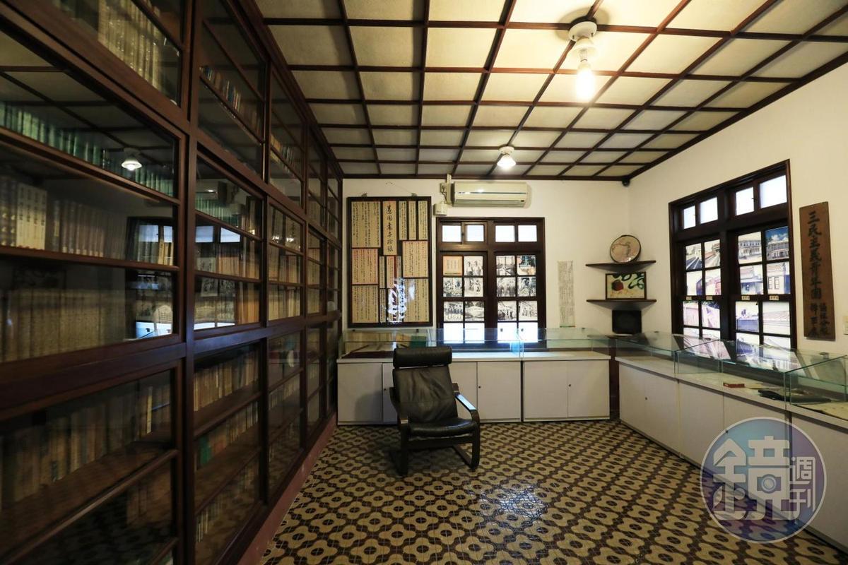 美術館內的「遂園文物館」,原先是黃清舞的書房。