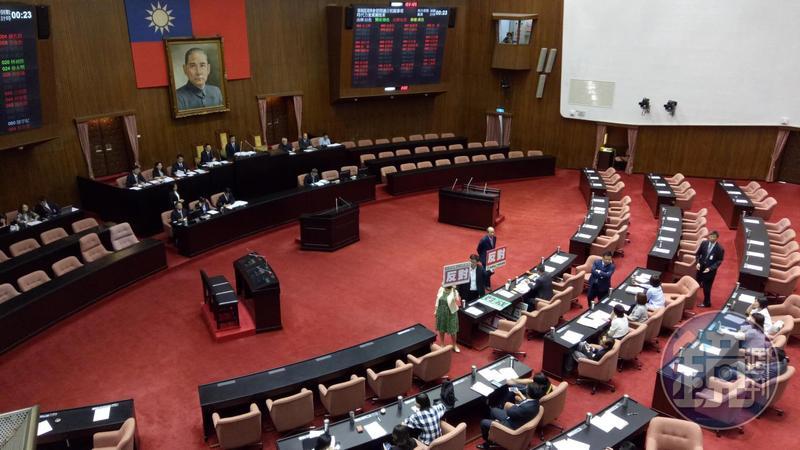 立法院今開談話會,確定21日開議。