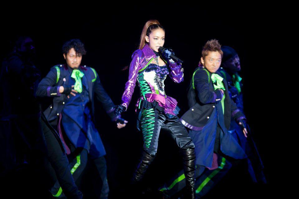 安室奈美惠的告別巡迴演唱會曾唱到台北小巨蛋,一票難求依依不捨。(翻攝自安室奈美惠臉書)