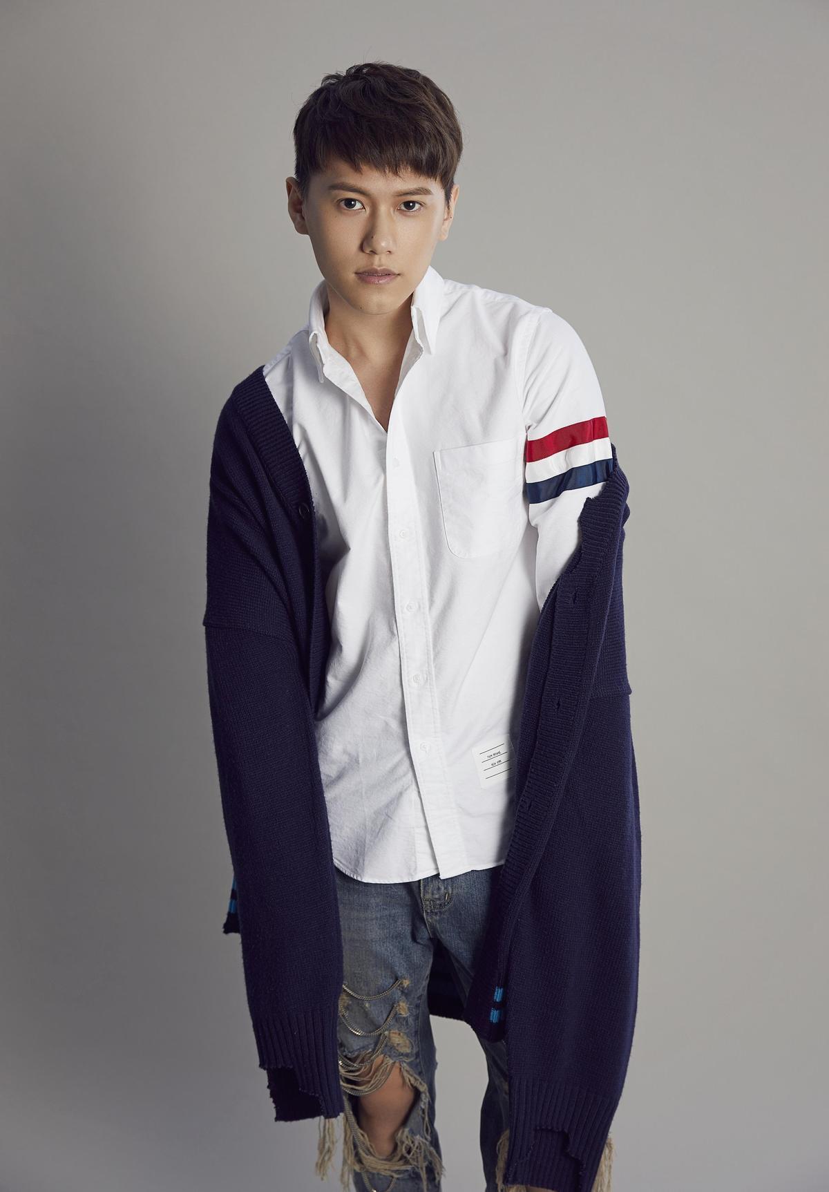 邱宇辰把生日音樂會取名「與辰同行」超有梗。(百鴻揚娛樂提供)