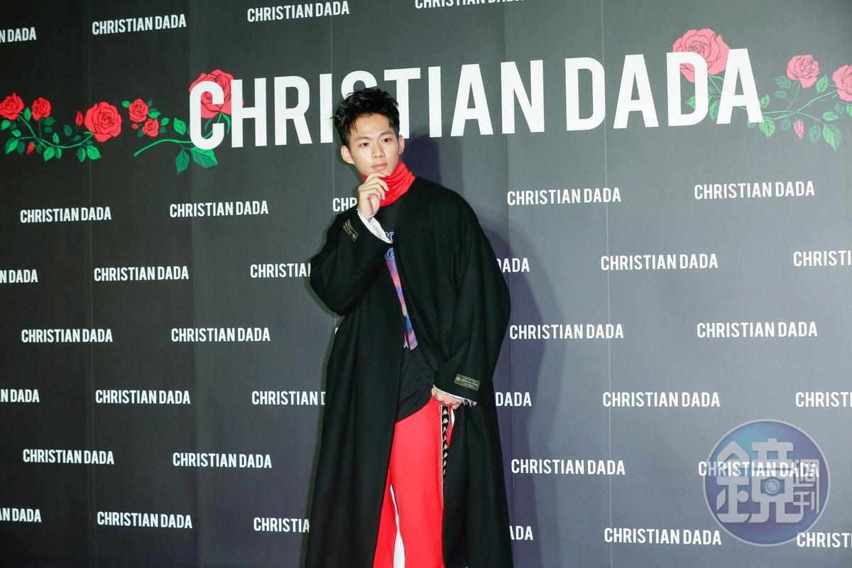 Christian Dada台北旗艦店開幕,吳念軒以嘉賓身份出席。