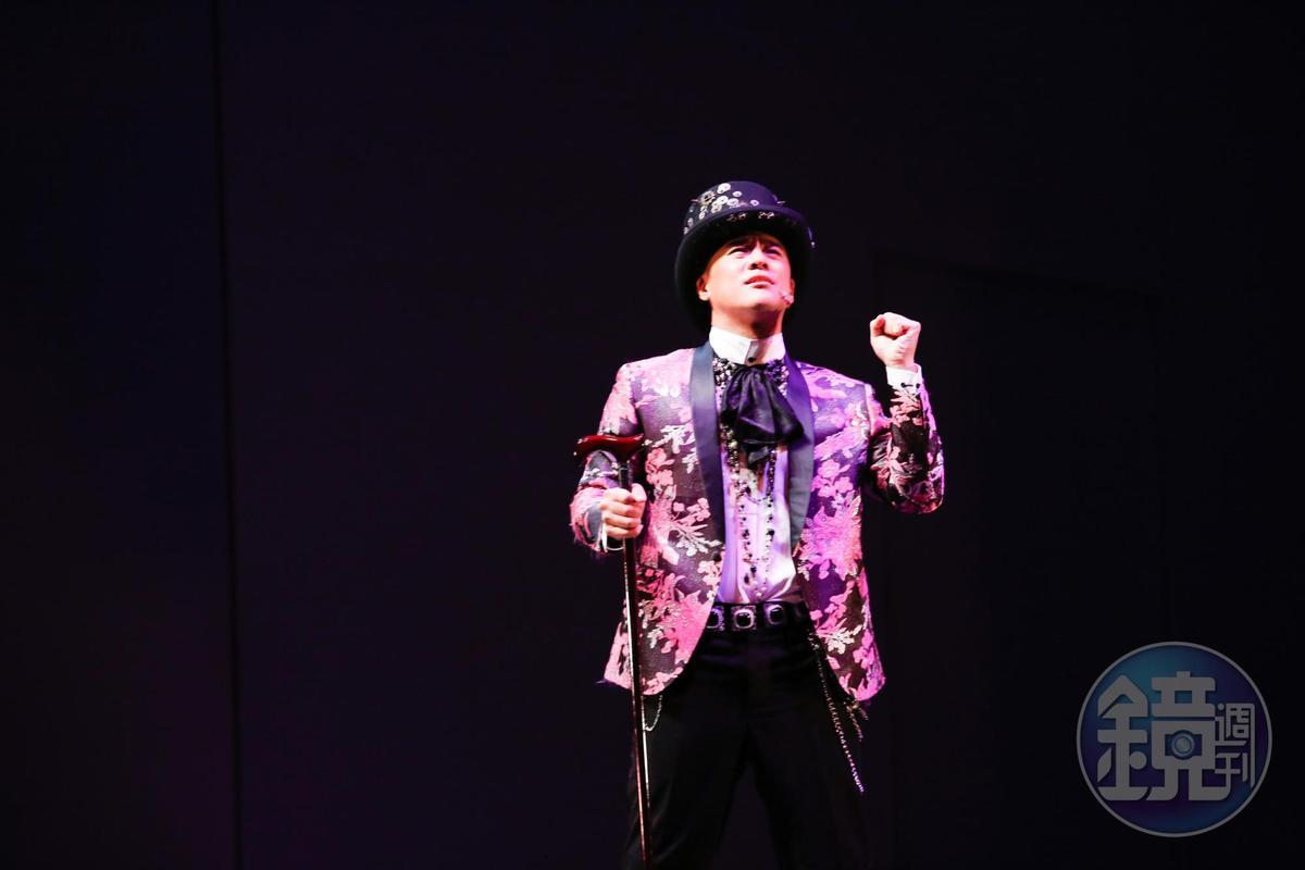竇智孔為《吻我吧娜娜》勤加練習,希望給觀眾留下深刻印象。
