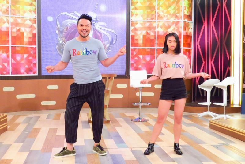 陳致遠的女兒愛唱歌會跳舞,對演藝圈充滿興趣。(衛視中文台提供)