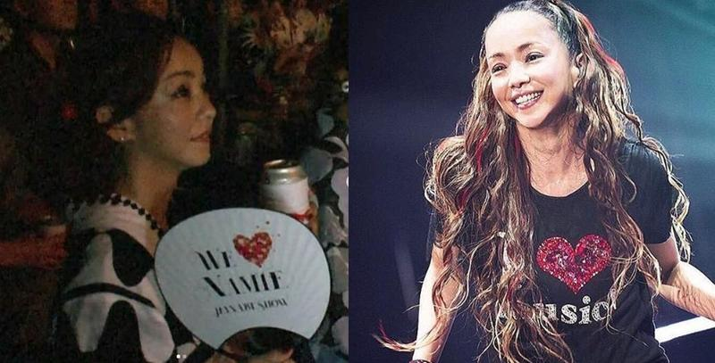 安室奈美惠15日在家鄉沖繩舉辦前夜祭、為引退歌壇做最後精采演出。(翻攝自網路)