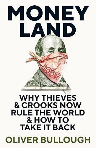 英國作家奧利佛布洛的《金錢國度》(Moneyland)是追查政商富豪海外帳戶的調查報告。(網路截圖/Facebook)