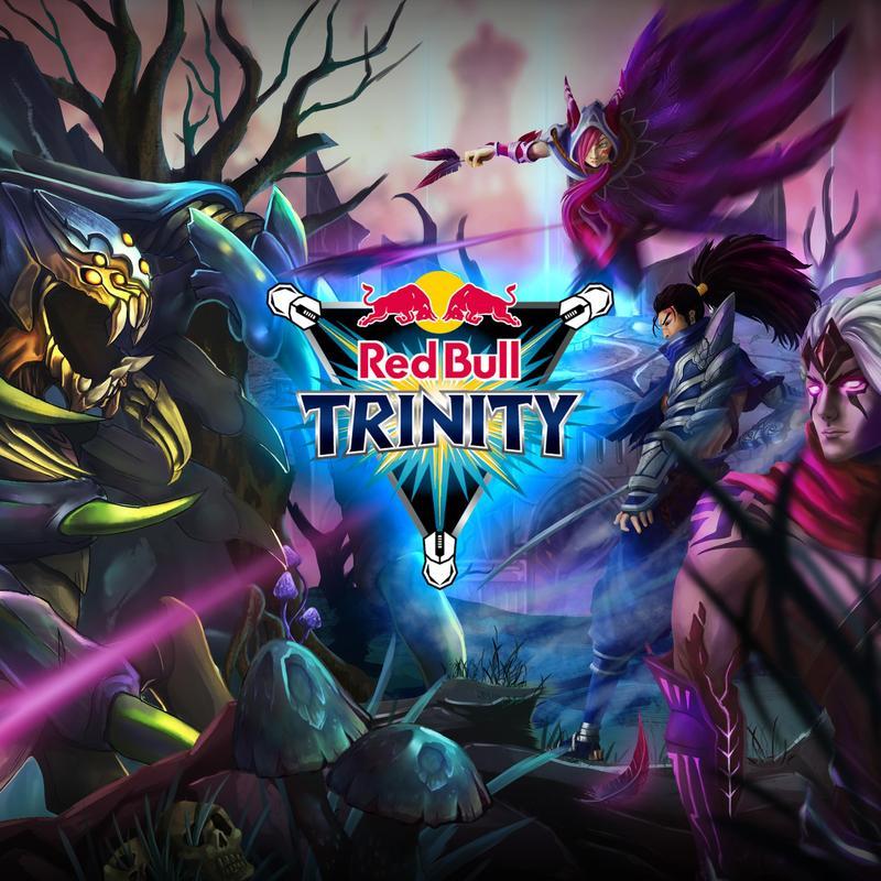 第二屆Red Bull Trinity英雄聯盟3v3對抗賽即日起開放報名,台灣玩家將有機會與港澳、韓國高手將一決高下。(Red Bull提供)