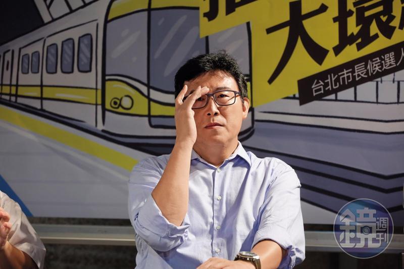 募款不順利的姚文智向民進黨中央要求金援,黨主席蔡英文有條件同意。