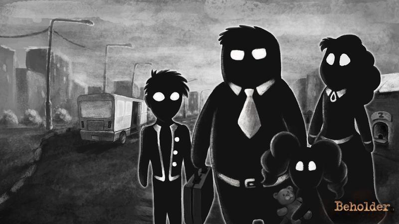 這款遊戲反映了部份極權社會的真實過去(圖片來源:遊戲內截圖)