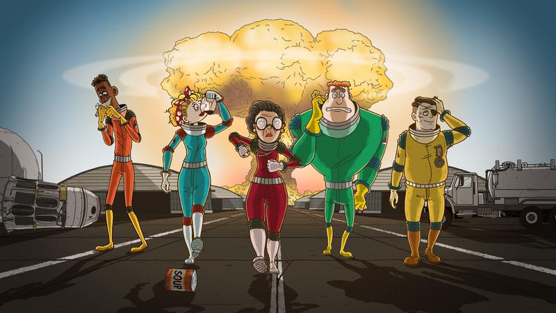 《60 Seconds!》推出續作,將餘災求生搬上外太空(圖片來源:官方)