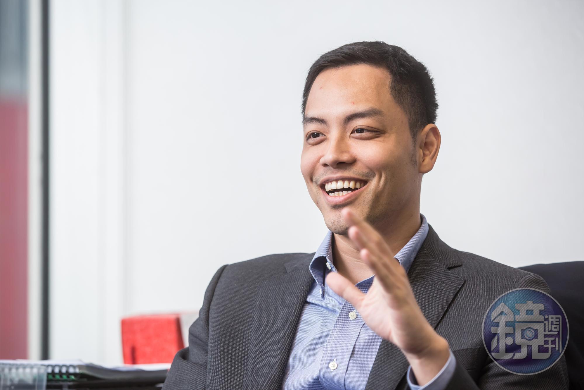 今年5月,楊威遠接下美德醫療集團執行長一職,準備大展身手。