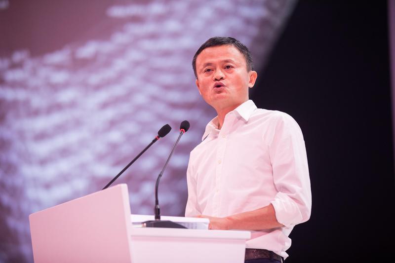 馬雲接受新華社專訪,表示當初答應川普創造美國就業機會的承諾已無法兌現。(東方IC)